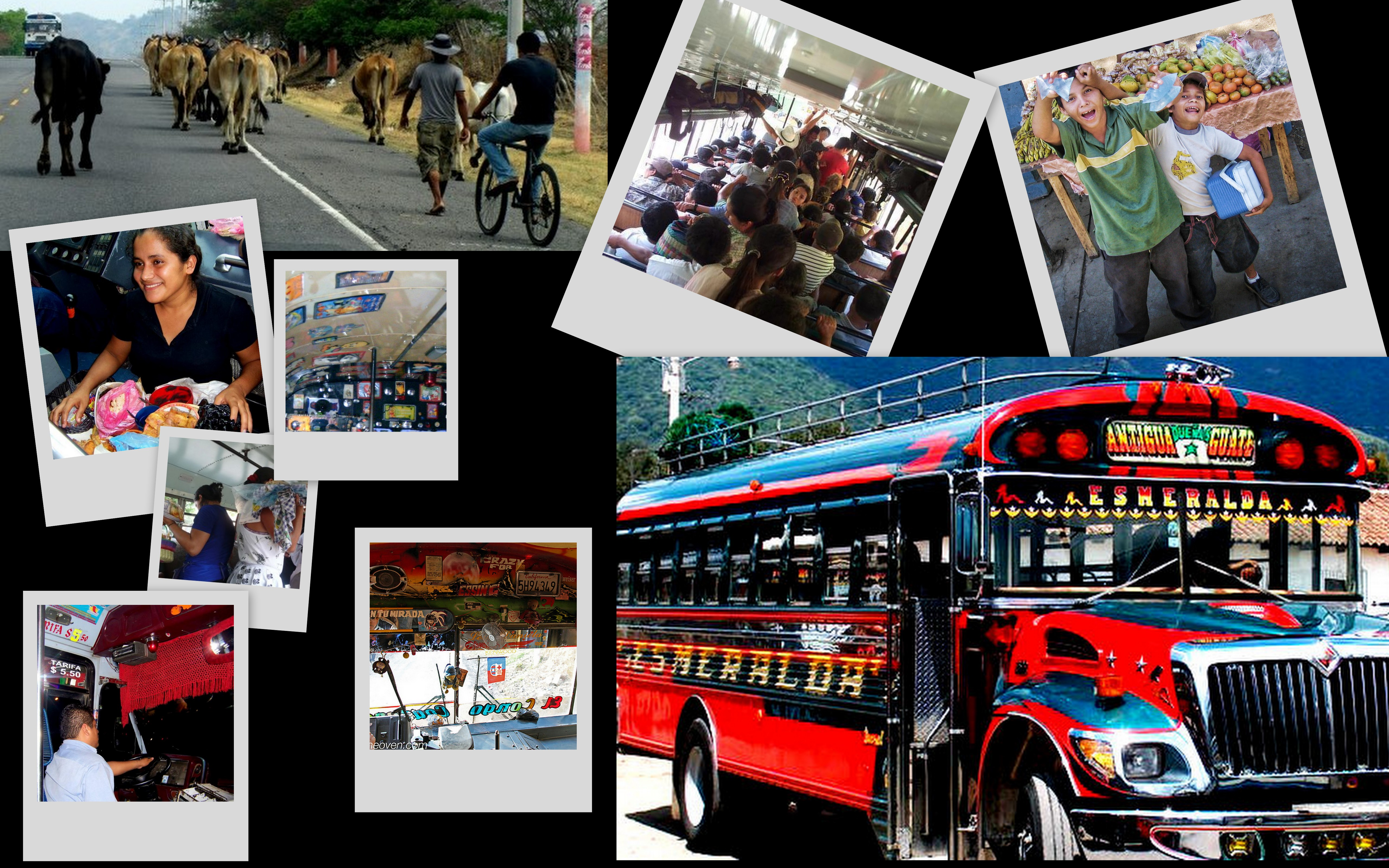 Sites and Sounds of Chicken Bus Travel in Central America